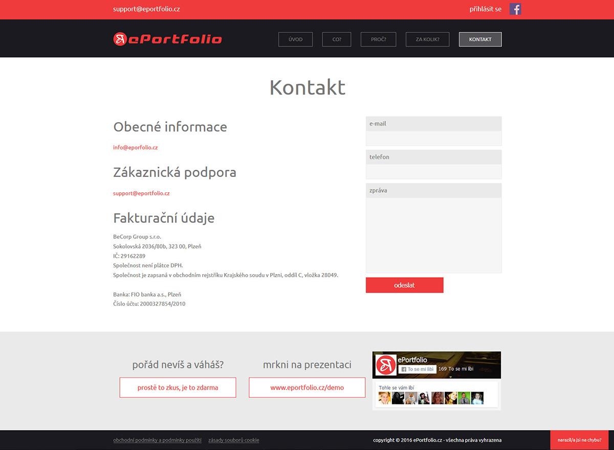 Responzivní web pro moderní online prezentace