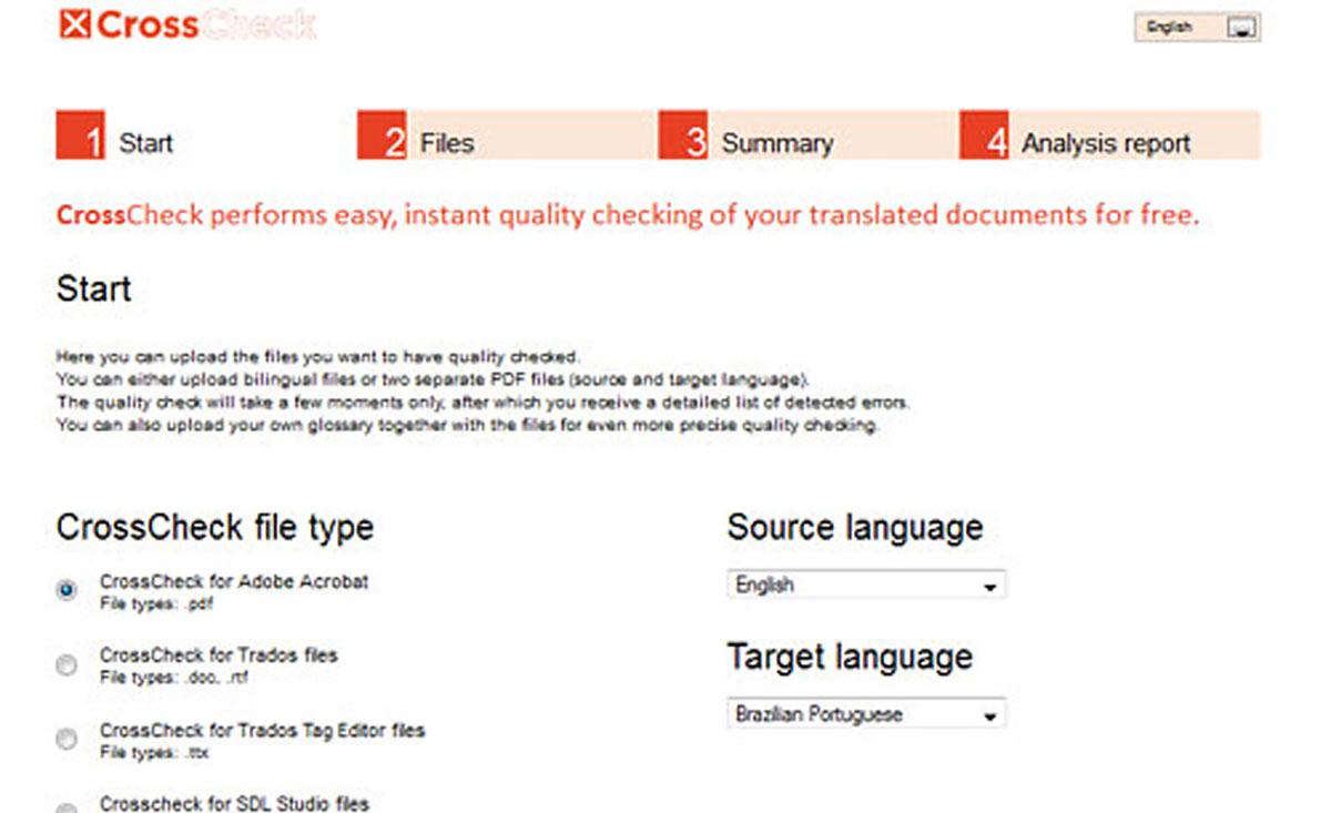 Online aplikace pro překlady textů